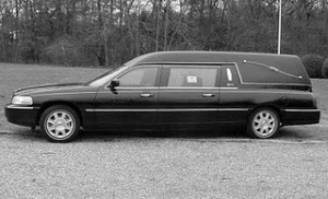 special Lincoln begrafenisauto