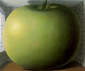 La chambre d'ecoute, Magritte