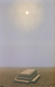 Magritte L'au-delà 1938