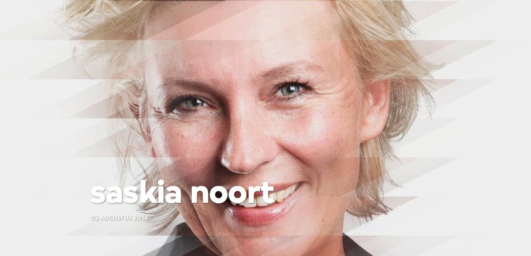 Schrijfster Saskia Noort was te gast in Zomergasten 2014