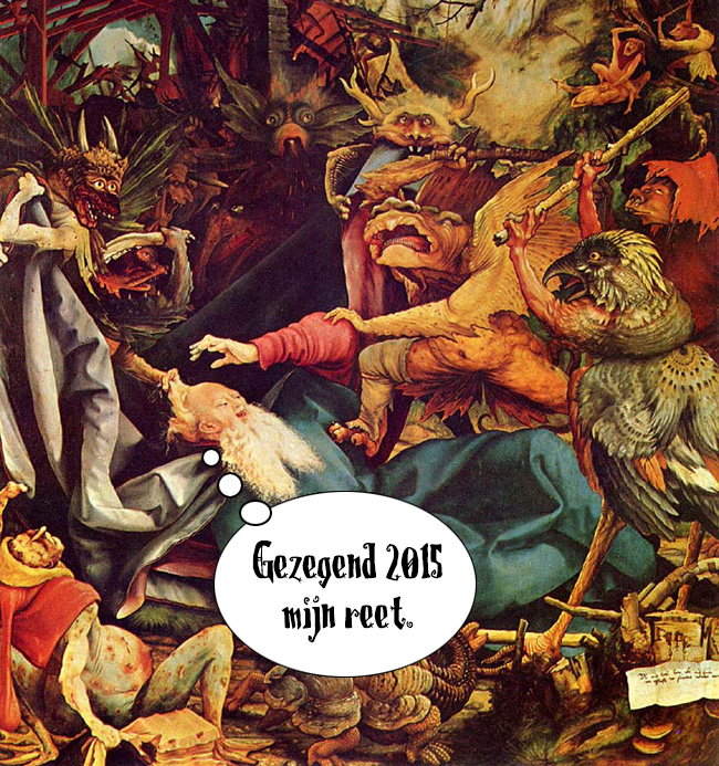 Gezegend 2015 Matthias-Grunewald-Temptation-of-St-Anthony